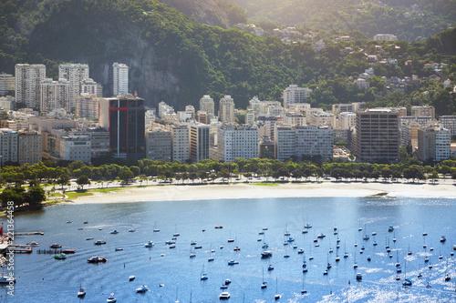 Keuken foto achterwand Amerikaanse Plekken Rio de Janeiro aerial view