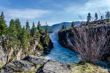 Spokane River Below Post Falls...