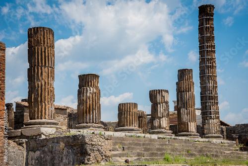 Fotografie, Obraz  Ruins of Pompeii