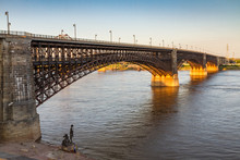 Eads Bridge Over The Mississip...