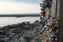 Duluth Locks Of Love On Harbor...