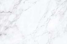 White Marble Texture With Natu...