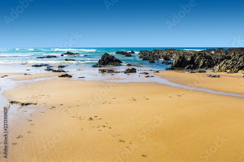 Fotografia  Portuguese Atlantic Ocean beach