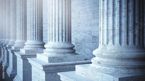 Column. Canvas Print