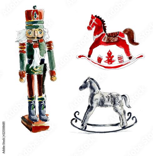 Cuadros en Lienzo  Christmas toys