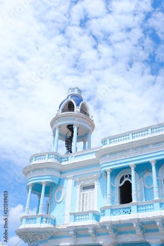 Foto  Casa de la Cultura Benjamín Duarte, Palacio Ferrer in Cienfuegos, Cuba