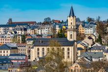 City Markneukirchen In The Vog...