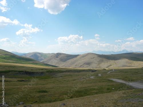 Foto op Aluminium Blauw Altai mountains