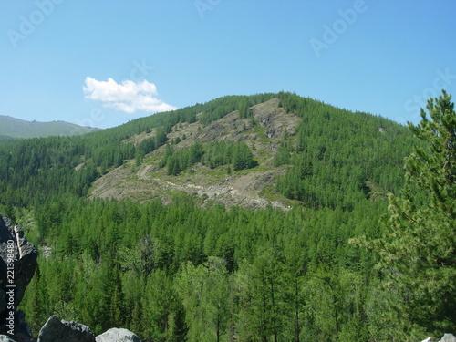 In de dag Pool Altai mountains