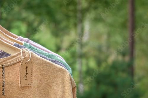 Fotografiet  Organic clothes