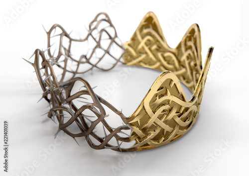 Photo Crown Of Thorns Concept
