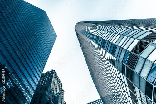 In de dag Verenigde Staten New york city aerial view