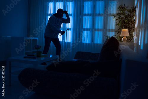 Fotografía  Burglary in home