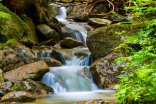 Waterfall On Brook