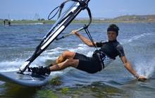 Windsurfer On The Black Sea