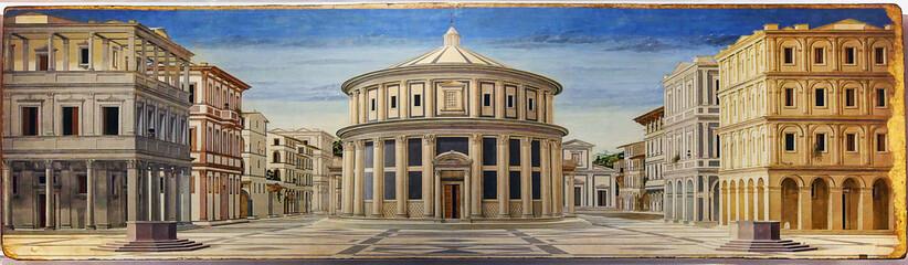 Urbino, Italy, The ideal city, Piero della Francesca, national gallery