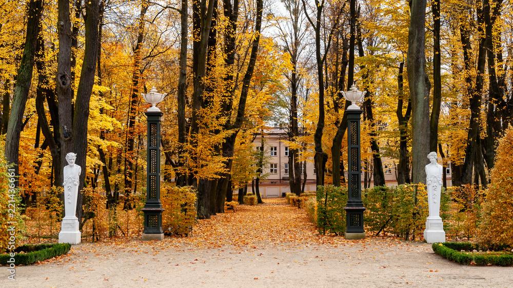 Fototapeta Ogród i Pałac Branickich w Białymstoku