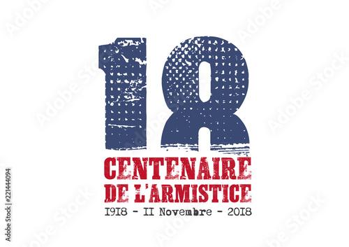 14-18 - Centenaire de l'armistice Tableau sur Toile