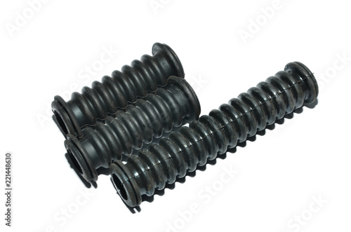 Fotografia  Spare part of corrugation for car repair, refinishing surface spares