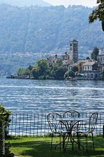 Fotografie, Obraz  Isola di San Giulio