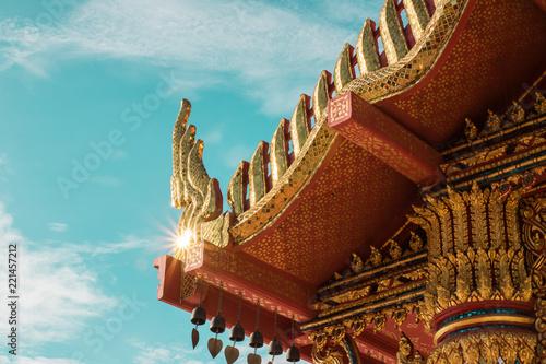 Foto op Plexiglas Bedehuis Temple in Sakonnakhon Thailand