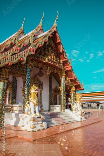 Staande foto Bedehuis Temple in Sakonnakhon Thailand