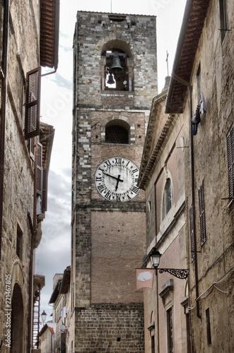 Fotografie, Obraz  Cityscape of Colle di Val d'Elsa, Italy
