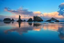 Bandon Beach Oregon Sunrise