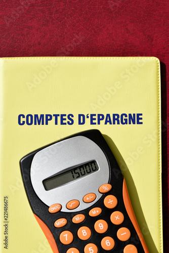 Fotografia, Obraz  Comptes d'épargne