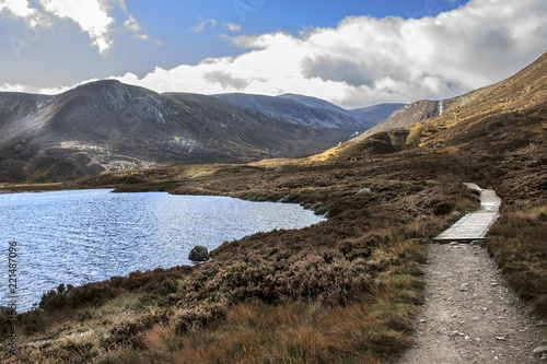 Photographie Loch Muick in Cairngorms National Park
