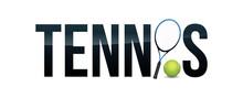 Tennis Concept Word Art Illust...