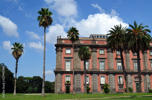 Staande foto Napels Capodimonte in Neapel
