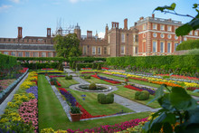 Hampton Court Palace In Summer.