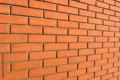 Foto op Plexiglas Wand red brick wall