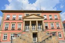 Rathaus Detmold In Kreis Lippe