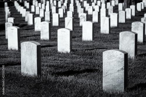 Foto op Canvas Begraafplaats Arlington Cemetery