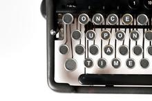 Close Up Of Retro Style Typewr...