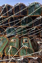 Lobster Pot In Galicia,spain