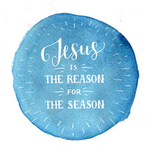 Hand Lettering Jesus Is The Re...