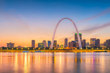 Skyline Of Saint Louis