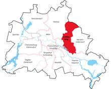 Berliner Bezirke - Lichtenberg