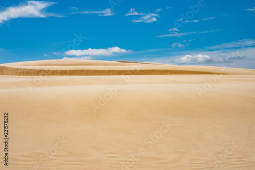 Fotografia  sands dunes in Leba, Poland