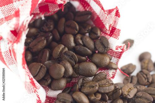 Keuken foto achterwand Koffiebonen Chicchi di caffè