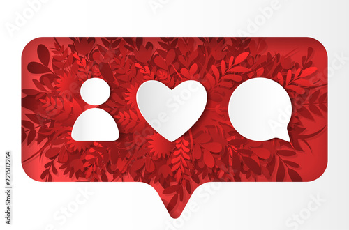 Social network icons pack Slika na platnu