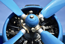 Blue Plane Propellers