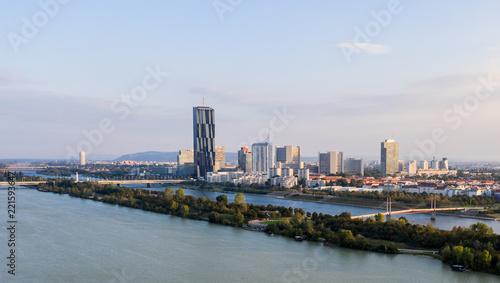 Foto op Aluminium Tokyo Drone view on Vienna, Austria