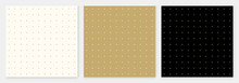 Pattern Seamless Dot Abstract Background Gold Luxury Color Geometric Vector.