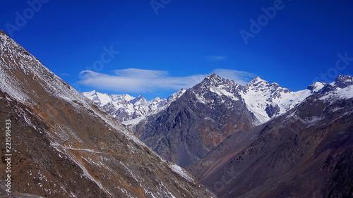Aconcagua ski resort in Andes, Argentina