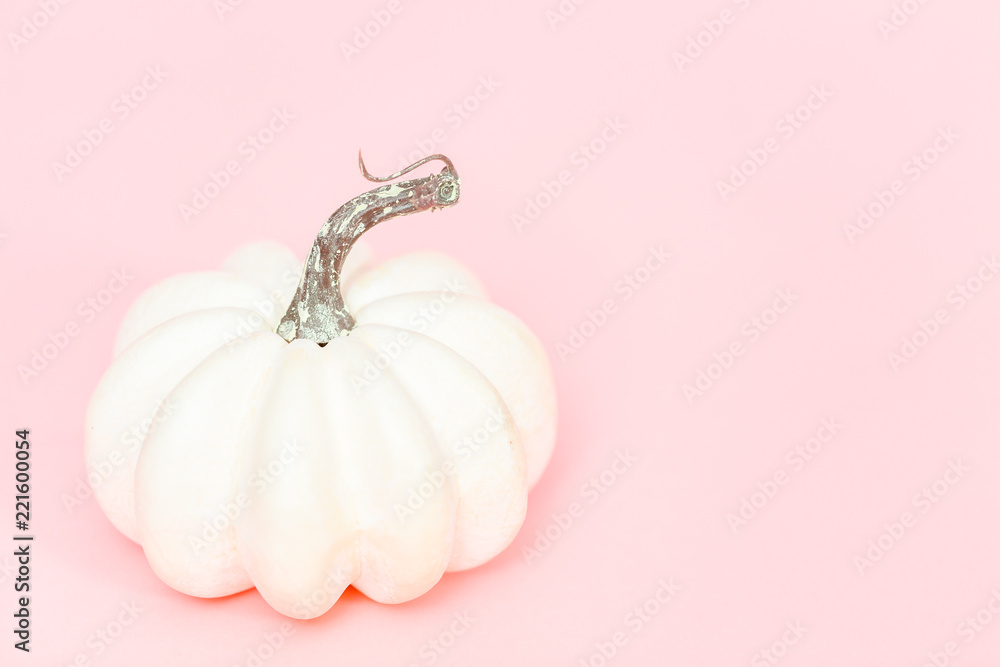 White pumpkins