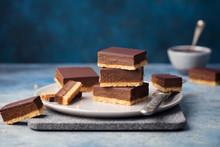 Chocolate Caramel Slices, Bars...